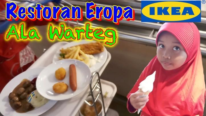 Pengalaman Makan Di Restoran Ikea Alam Sutera Shaquila